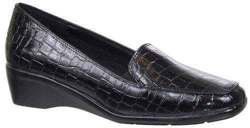 Nivå Loafers I Svart Crocco