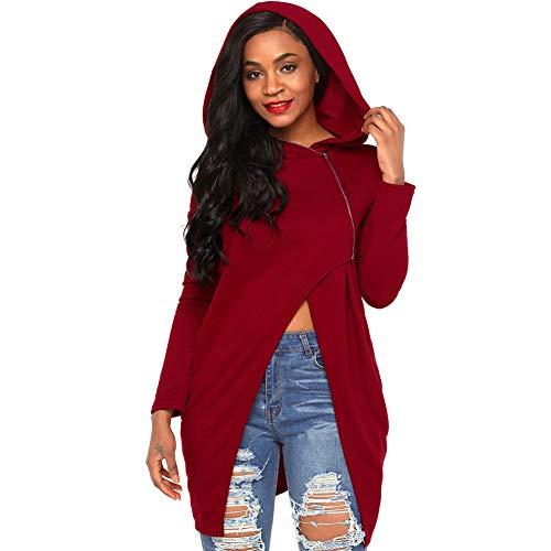 Red T Tops Wine Women's Loose Casual Shirt gqaxw6pw