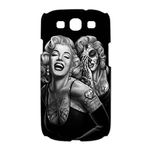 Mystic Zone Zombie Marylin Monroe Case for Samsung Galaxy S3 Hard Cover Fits Case HH0875