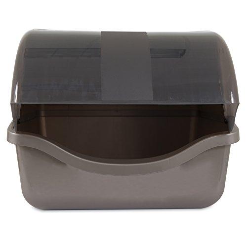 Petmate-22793-Retracting-Litter-Pan-Brushed-Nickel
