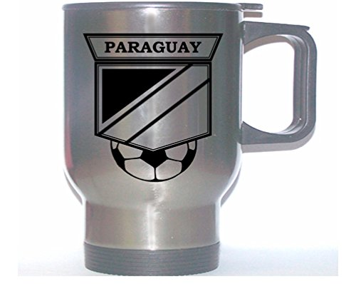 Paraguay National Team Soccer Stainless Steel Mug (Paraguay National Soccer Team)