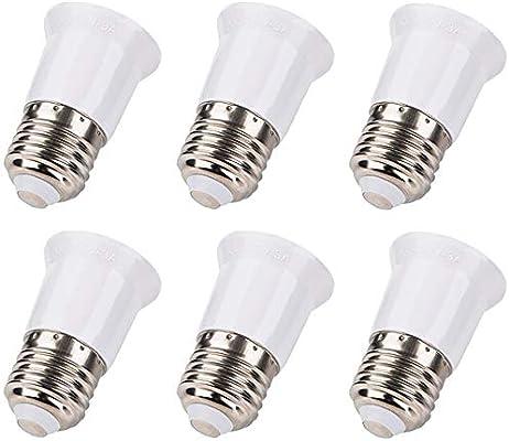 Lamp Holder Adapter Lamp Bulb Socket Extension 10-Pack DiCUNO E26//E27 Socket Extender Adapter E26//E27 to E26//E27 Edison Screw Converter