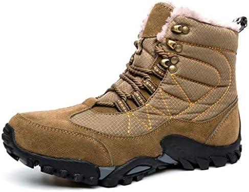 トレッキングシューズ カジュアル ハイキングシューズ メンズ 冬靴 ウォーキング アウトドア スニーカースノーブーツ 防滑 クッションインソール 耐磨耗 オシャレ 登山靴 つま先保護 キャンプシューズ