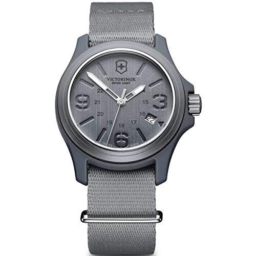 Victorinox Swiss Army Men's 241515 Original Grey Dial and Strap Watch Watch