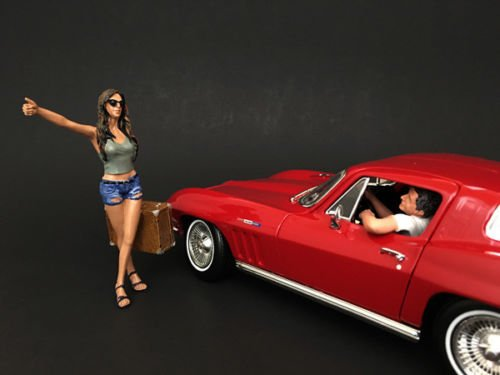 American Diorama Figurine stopeuse Car and Driver–Echelle for sale  Delivered anywhere in USA