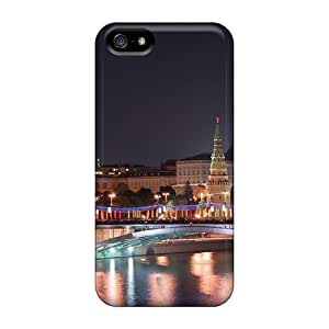 Shock-dirt Proof Beautiful Moscow Evening For HTC One M9 Phone Case Cover