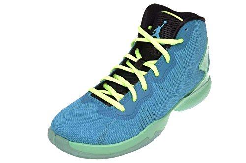 78250f1eb9da1 Jordan Kid's Super.Fly 4 BG, BLUE LAGOON/BLUE LAGOON-GREEN GLOW ...