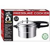 Aluminum Pressure Cooker Size: 4.5-qt