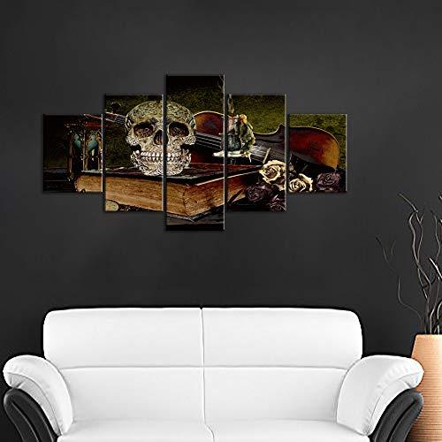 Poster Home Decor Wall Art Halloween Art//Canvas Print