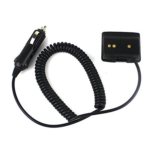 Tenq12v Car Battery Charger Eliminator Adaptor with Waterproof Ring for Yaesu Radio Vx-6r Vx-7r