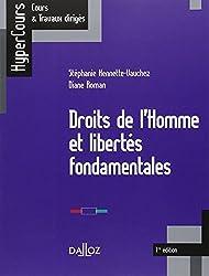 Droits de l'Homme et libertés fondamentales - 1ère édition