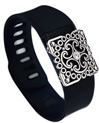 Fitbit bling Jewelry Accessory Charge Hr Flex band - Honey