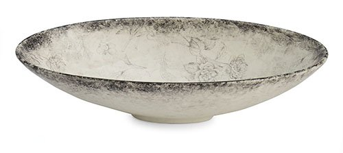 Arte Italica Giulietta Oval Serving Bowl, Cream