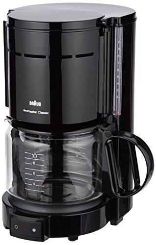 Braun KF47 BK Braun KF47 Black 10-Cup Coffee Maker, 220V (Non-USA Compliant), Black - Coffee Pigs