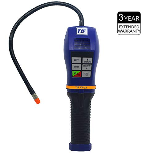 TIF XP-1A Refrigerant Leak Detector Advanced Halogen Freon Leak Tester for HVAC Air Condition CFCs HCFCs HFCs 10 Years' Life 【3 Years Warranty】 ()