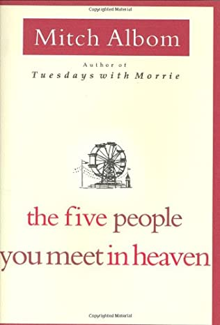 book cover of The Five People You Meet in Heaven