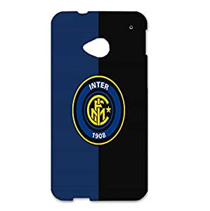 Official Design 3D F.C Internazionale Milano Phone Case for Htc One M7 Inter Milan Logo