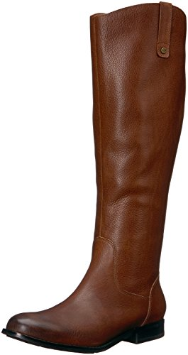 206 Collective Women's Whidbey Riding Boot, Cognac, 9 B (Metallic Leather Knee Boot)