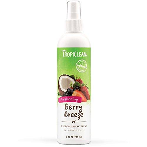 Tropiclean Berry Breeze Deodorizing Pet Spray, 8oz (Pet Cologne)