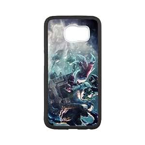 Samsung Galaxy S6 Phone Case Cover White Veigar league of legends EUA15992425 Phone Cases Fashion Hard
