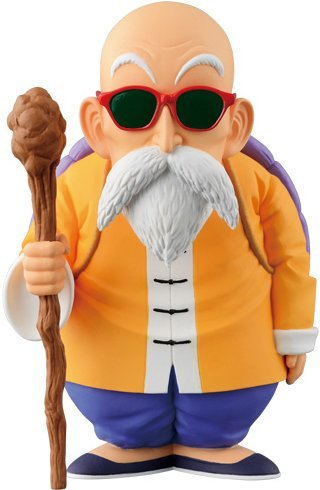 Banpresto Dragon Ball Collection Volume 2 Master Roshi Action Figure, 5.9""