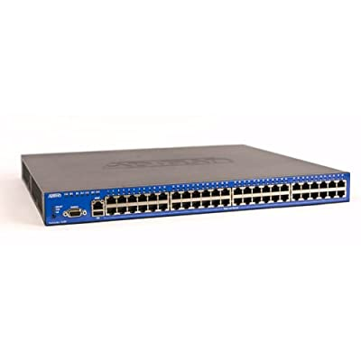 48 Port Managed Layer 3 Gigabit Ethernet Switch with optional 10GigE uplink and 802.3af & Legacy Power over Ethernet. Includes 48 - Copper Gigabit (1000Base-T) access ports and 2 - High Speed Expansion Slots. Provides up to 370 watts of 802.3af complian