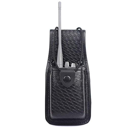 Molded Radio Pouch - Basketweave Radio Pouch Duty Gear Molded Radio Holder Pouch, Basket Weave