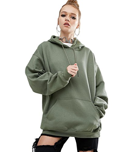 51179485 ISSHE Pullover Hoodies For Women Women's Hooded Sweatshirt Jumper Womens  Sweatshirts For Women Hoodie Plain Loose Casual Oversized Bat Sleeve ...