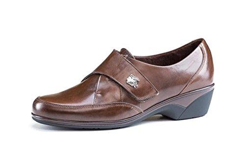 Zapatos cómodos Mujer PITILLOS Plantilla Extraible - Negro Cierre Velcro - 1915-101 (37