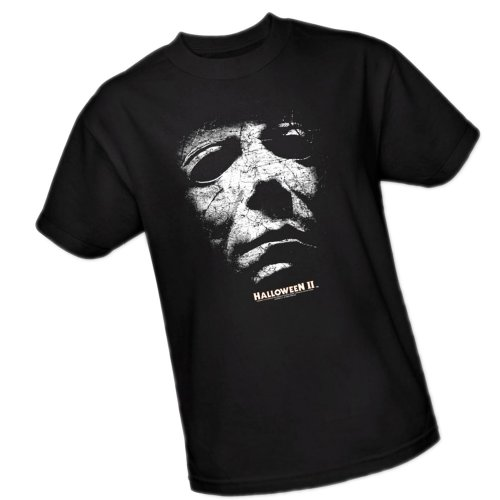 Universal Studios Halloween - Mask -- Halloween II Adult T-Shirt, XXX-Large