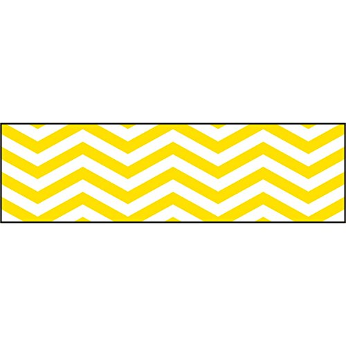 TREND enterprises, Inc. Looking Sharp Yellow Bolder Borders, 35.75'