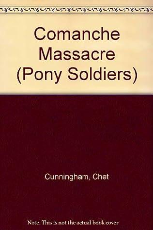book cover of Comanche Massacre
