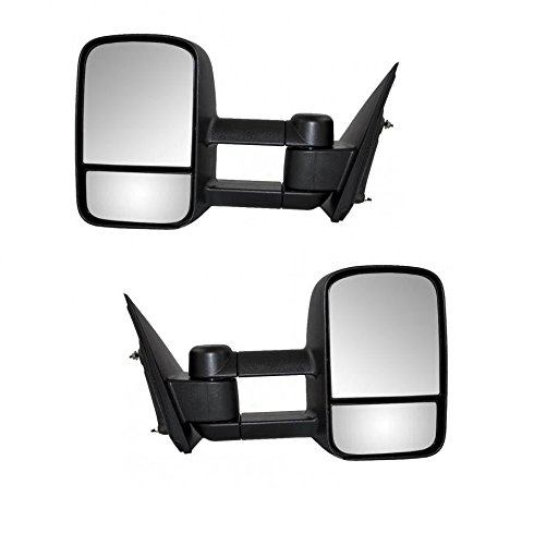 01 chevy tow mirrors pair - 6