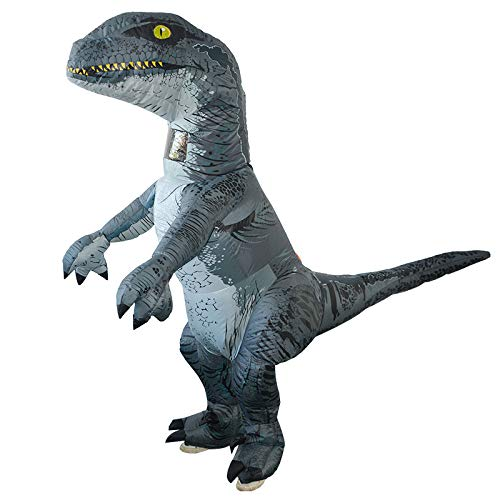 Costume Gonflable Nouveauté Dinosaure Blow Up Déguisement Robe Carnaval Halloween Mascarade Party Outfit,150-190cm