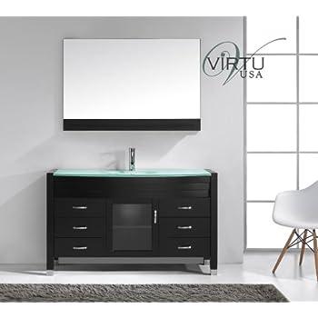 Virtu USA MS 5055 G ES Modern 55 Inch Single Sink Bathroom