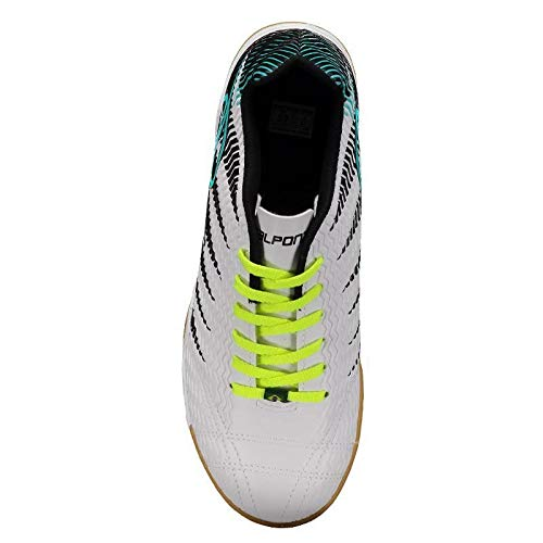 Chuteira Dalponte Wembley Futsal Branca  Amazon.com.br  Esportes e Aventura c8ec558b2ef38