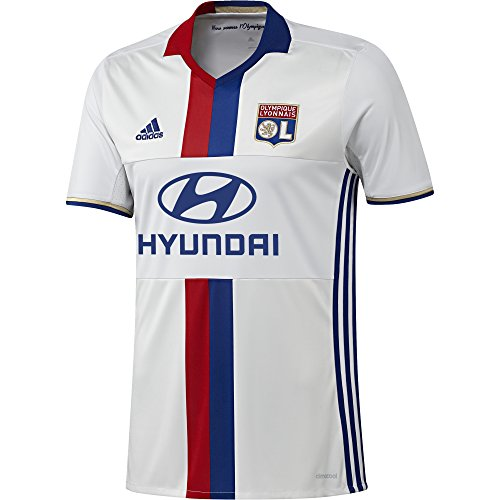 adidas 2016-2017 Olympique Lyon Home Football Shirt