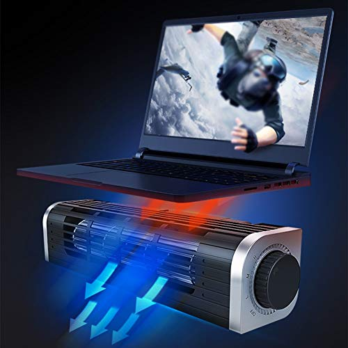 PANGU-ZC Laptop Cooler - Portable, Silent Design for Macbooks Up to 15.6 Inches (Supports Rear Air Outlet Notebook) by PANGU-ZC (Image #4)