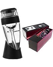 Vituzzi Decantador Premium de Vino. Aireador/Vertedor para Vino, para cualquier tipo de Botella o Copa de Vino Tinto, Rosa y Blanco. Oxigenador para Vino. Certificado por la FDA.