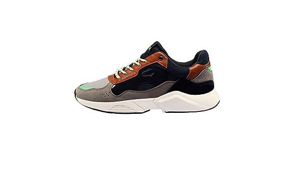 JOHN SMITH Zap.J.Smith ULEN, Zapatillas de Deporte para Hombre, Azul Marino, 43 EU: Amazon.es: Zapatos y complementos