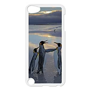 Best Phone case At MengHaiXin Store Love Penguins Pattern 150 FOR Ipod Touch 5