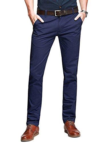 navy blue dress pants - 3