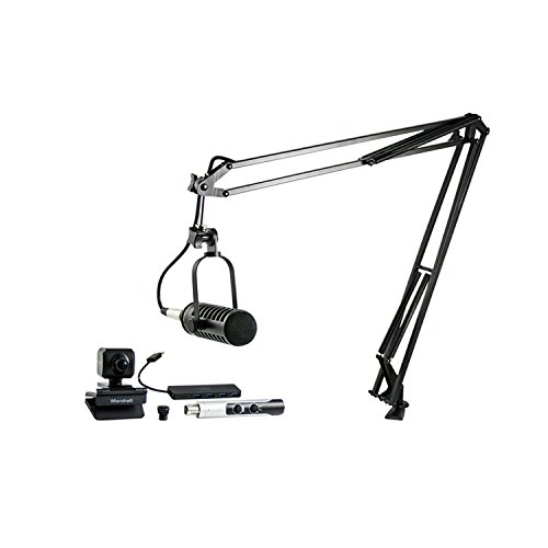 Price comparison product image MXL VPS SOLO Visual Podcasting Station with 1 Microphone and Camera