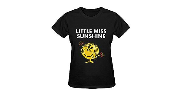 Little Miss Sunshine – sol cara sonriente señoras camiseta de ...