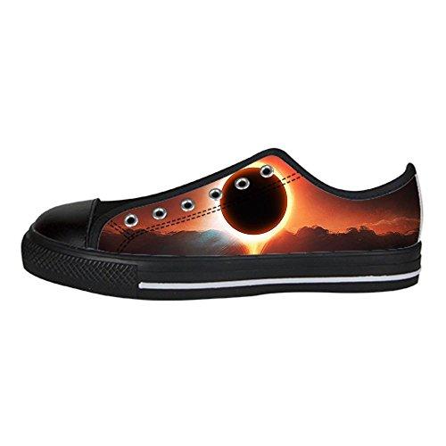 - Custom Sun Painting Womens Classic High Top Canvas Shoes Fashion Sneaker