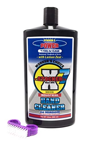 Lemon Hand Cleaner - STOCKER X7 (32 OZ) Concentrated Workers Choice Lemon Hand Cleaner (32 OZ)
