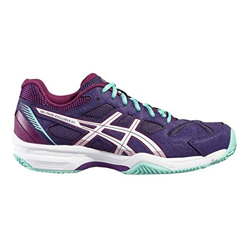 Asics Tennis Shoes Gel-Padel Exclusive 4 Sg, PURPLE / COCKATOO ...