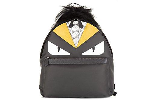 fendi-bag-bugs-bag-gray-nylon
