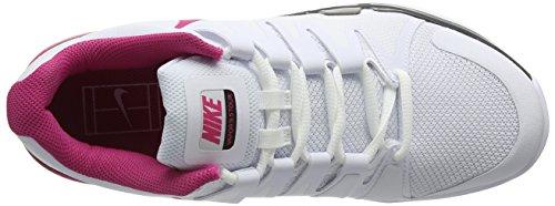 Nike Zoom Vapor 9.5, Zapatillas de Tenis para Mujer Blanco (White / Pink Blast Black)