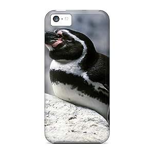 New Tpu Hard Case Premium Iphone 5c Skin Case Cover(penguin Flightless Birds)